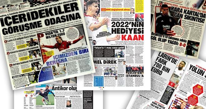 Manşetlerle Beşiktaş (8 Ekim)