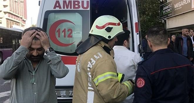 Beşiktaş'ta 4. kattan düşen iş adamı hayatını kaybetti