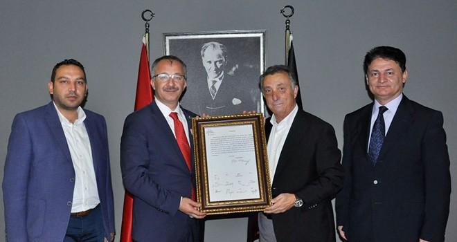 Prof. Dr. Uğur Ünal'dan Başkan Çebi'ye ziyaret