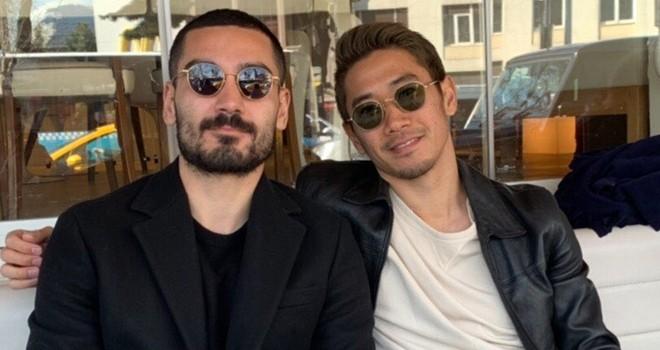 İki ünlü futbolcu İstanbul'da buluştu