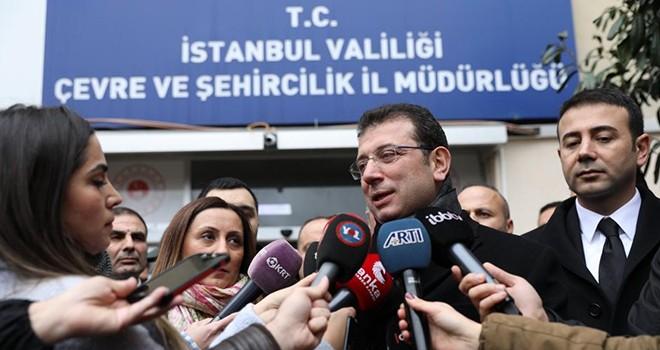Cevabını İstanbul halkı adına bekliyorum