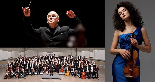 Ulusal Basque Orkestrası ve Alena Baeva CRR'de