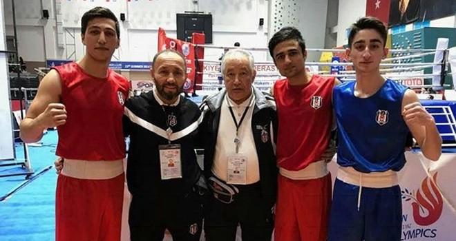 Beşiktaşlı boksörden Türkiye şampiyonluğu