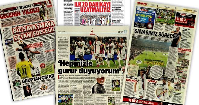 Beşiktaş manşetleri (17 Eylül)
