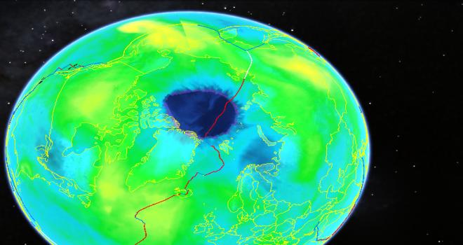 Bilim dünyası şokta! Kuzey Kutbu'nda ozon tabakası yok oluyor...