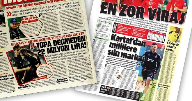 Beşiktaş manşetleri (11 Ekim)