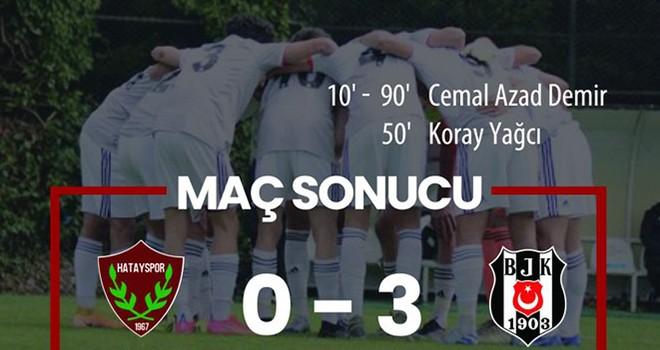Beşiktaş U-19 Akademi Takımı'ndan 3-0'lık galibiyet!..