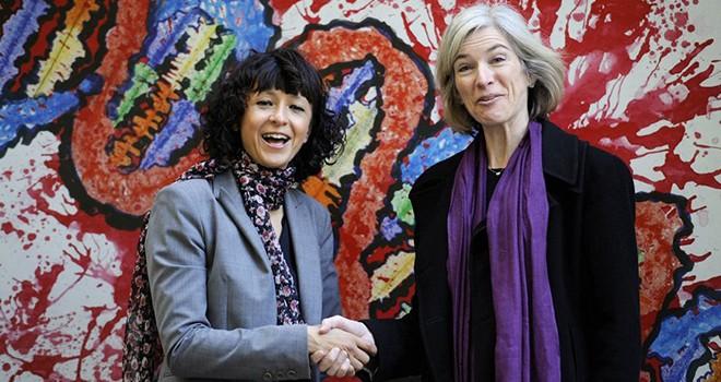 Nobel Kimya Ödülü'nün sahibi DNA'yı kesen Emmanuelle Charpentier ve Jennifer Doudna oldu