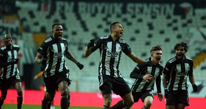 Beşiktaş liderliğini sürdürdü!