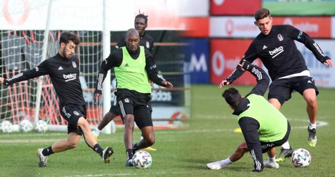 Lider Beşiktaş Hatayspor maçına hazırlanıyor