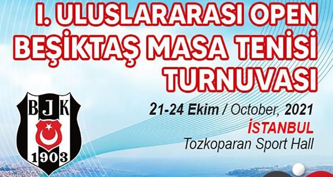 Uluslararası Beşiktaş Masa Tenisi Turnuvası kayıtları başladı!