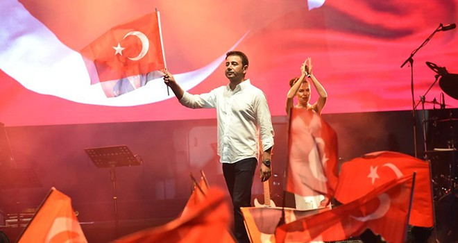 Beşiktaş'ta 30 Ağustos Zafer Bayramı coşkuyla kutlandı!