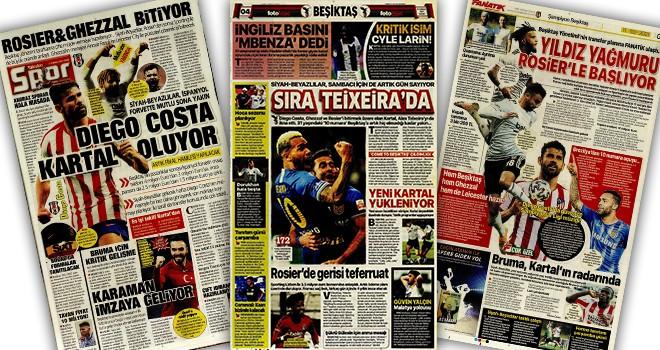 Günün Beşiktaş manşetleri! (11 Temmuz)