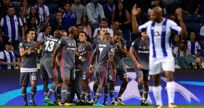 Beşiktaş Avrupa'da devleri solladı
