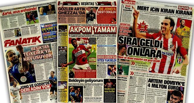 Günün Beşiktaş Manşetleri (2 Ağustos)