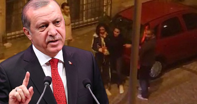 Cumhurbaşkanı Erdoğan'dan Beşiktaş'taki olaya tepki