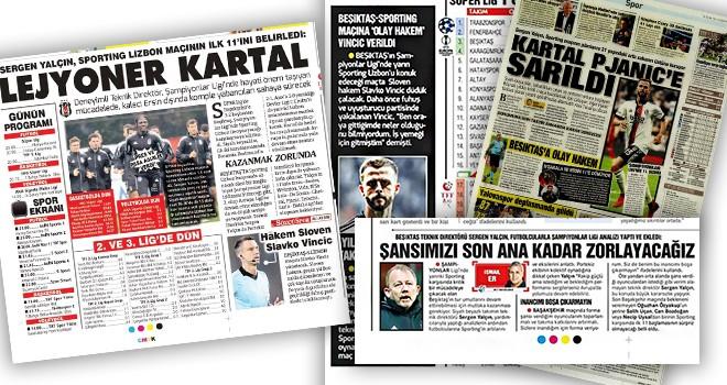Beşiktaş manşetleri! (18 Ekim)