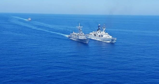 Doğu Akdeniz'de ortak tatbikat kararı