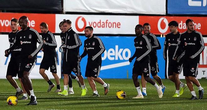 Beşiktaş, maça hazır