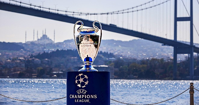 UEFA Şampiyonlar Ligi 2023'te İstanbul'da