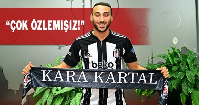 Beşiktaş'tan Cenk Tosun paylaşımı taraftarı coşturdu