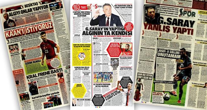 Beşiktaş manşetleri (7 Ekim)