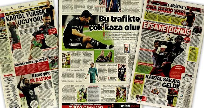 Beşiktaş manşetleri (20 Eylül)
