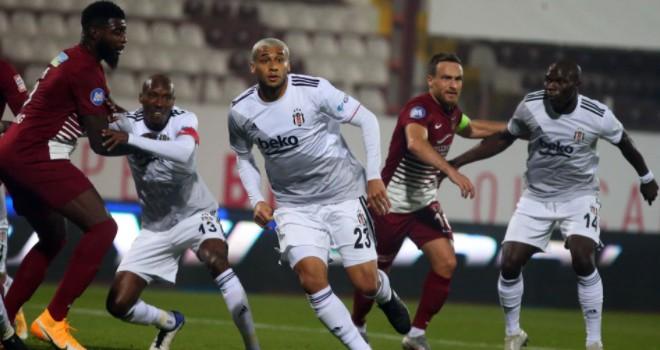 Hatayspor - Beşiktaş maç sonucu: 2-2