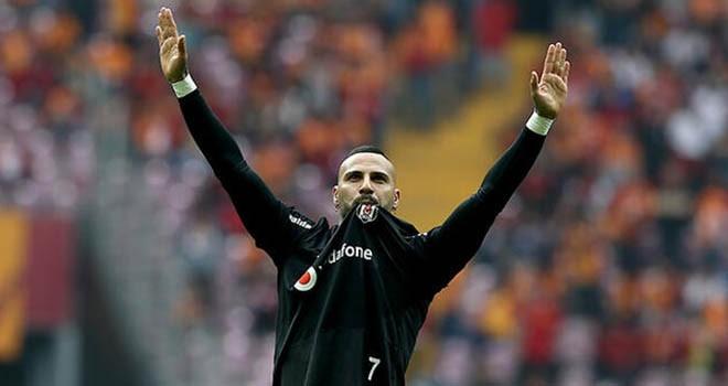Quaresma'dan Beşiktaş taraftarına veda