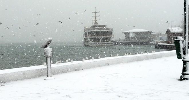 İstanbul'da kar için geri sayım başladı