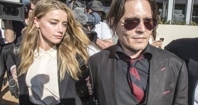 Johnny Depp ile Amber Heard arasında sular durulmuyor