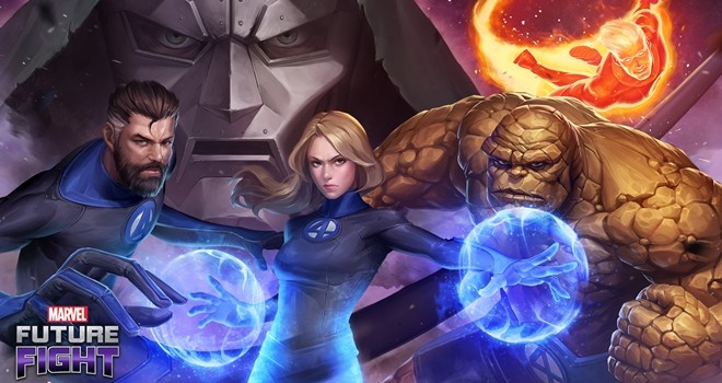 Fantastik Dörtlü, MARVEL Future Fight oyununda!