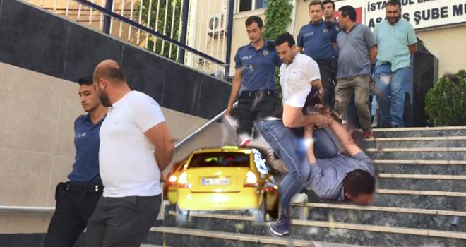 Turistleri dolandırdığı iddia edilen taksiciler adliyeyede