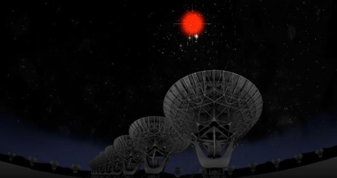 Uzaydaki radyo sinyalleri
