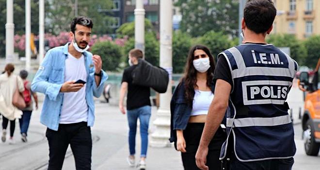 İstanbul'da maske takmayanın cezası belli oldu