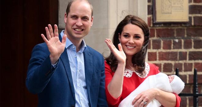 Kraliyet ailesinde üçüncü torun sevinci