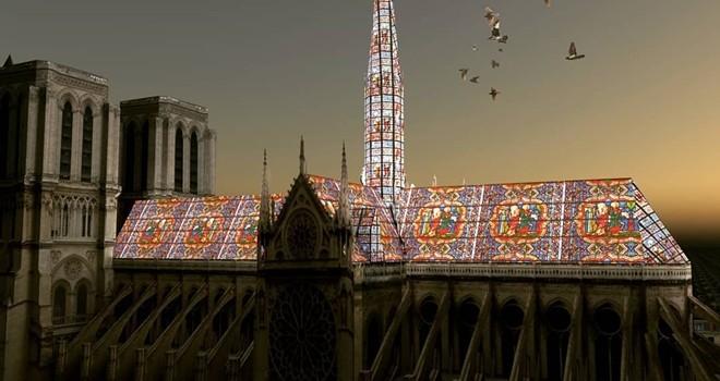 Notre-Dame'ın kulesi için çılgın fikirler
