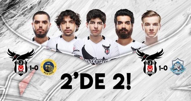Beşiktaş'tan kayıpsız zafer
