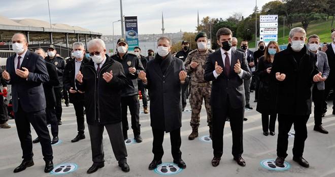 Beşiktaş'taki terör saldırısında şehit olanlar saygıyla anıldı