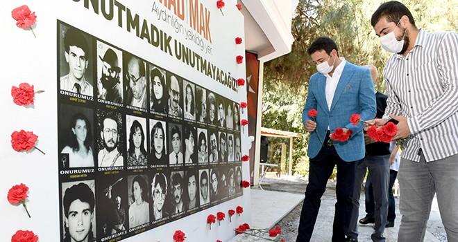 Katliamda yitirilen 35 aydın ve sanatçı anıldı
