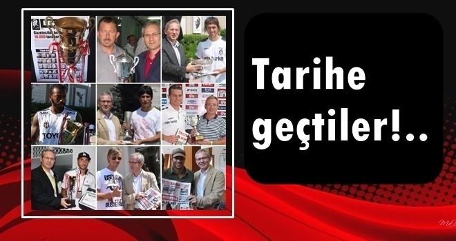 İşte o haberler! Yılın futbolcusu, Gazeteci İsmail Baştuğ ve Beşiktaş Medya Grup rekorları henüz kırılamadı