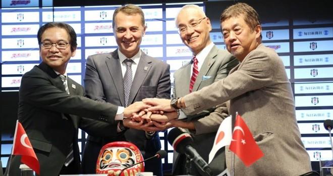 Beşiktaş ile Mainichi-Sponichi iş ortaklığı