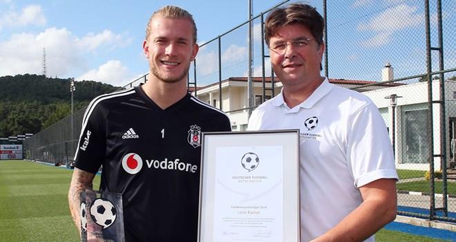 Loris Karius'a futbol elçisi ödülü