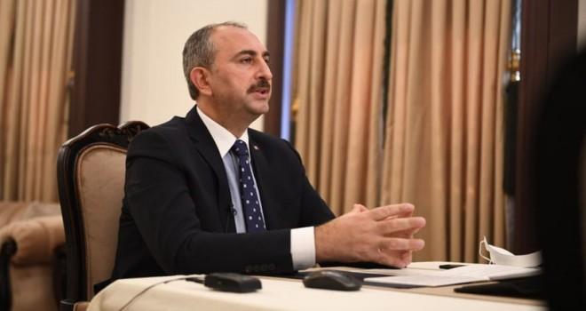 Adalet Bakanı Gül'den açıklama!