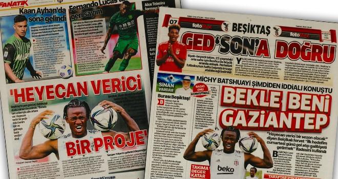 Beşiktaş manşetleri (21 Ağustos)