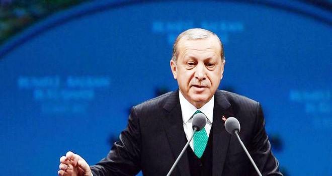 Cumhurbaşkanı Erdoğan, haklıdan yanayız dedi