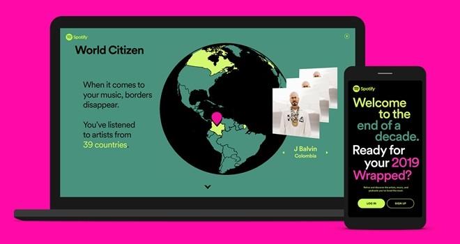 Spotify 2019 Kişisel Özeti ile dinlediklerinizi keşfedin