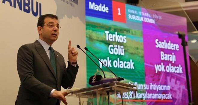 İmamoğlu'nun Kanal İstanbul'a karşı olmasının 15 nedeni