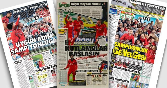 Manşetlerle Beşiktaş: Şampiyonluk geliyor!..