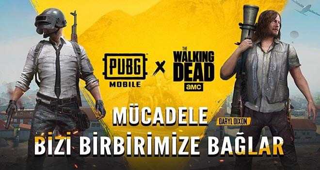 The Walking Dead karakterleri PUBG MOBILE'da